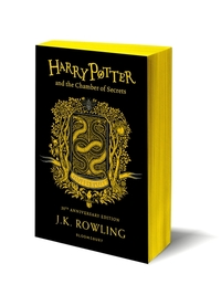 Harry Potter and the Chamber of Secrets - Hufflepuff Edition - J.K. Rowling (Paperback)