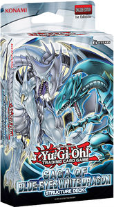 Yu-Gi-Oh! - Structure Deck: Saga of Blue-Eyes White Dragon (Trading Card Game) - Cover