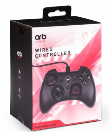 ORB Nintendo Switch Wired Controller