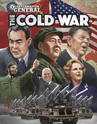 Quartermaster General: The Cold War (Board Game) - Cover