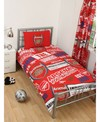 Arsenal - Club Crest Patch Single Duvet Set (Single)