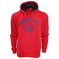 Arsenal Red Crest Mens Hoody (Small) - Cover