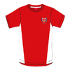 Arsenal Red Crest Mens T-Shirt (Large)