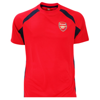 Arsenal Red Panel Mens T-Shirt (XX-Large) - Cover