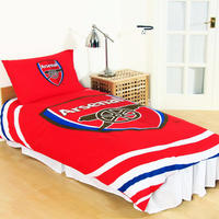 Arsenal - Club Crest Reversible Pulse Duvet Set (Single)