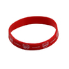 Arsenal - Club Crest Single Rubber Wristband