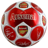 Arsenal - Club Crest & Players Signature Football (Size 5)