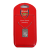 Arsenal - Club Crest Silver Plated Dog Tag and Chain