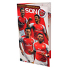 Arsenal - Club Crest & Players Son Birthday Card (6PK)
