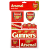 Arsenal - Club Crest & Logo Sticker Pack