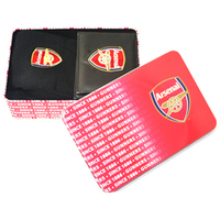 Arsenal - Club Crest Supporters Wallet and Socks Tin - Cover