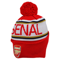 Arsenal - Club Crest & Arsenal Text Cuff Knitted Hat - Cover