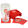 Arsenal - Club Crest Wordmark Mini Bar Set