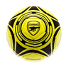 Arsenal - Club Crest Yellow Fluo Football (Size 5)