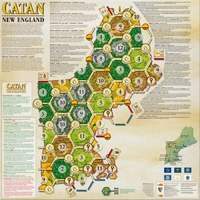 Catan - Geographies: New England Expansion (Board Game) - Cover