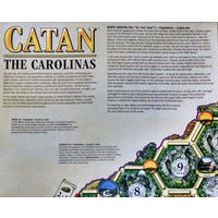 Catan - Geographies: The Carolinas (Board Game)