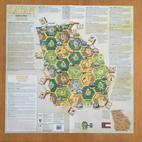 Catan - Geographies: Georgia Expansion (Board Game) - Cover