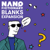 Nanofictionary - Blanks Expansion (Card Game)