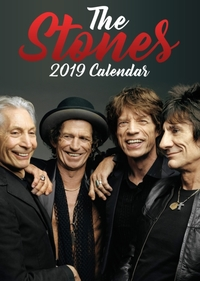 Rolling Stones - 2019 Calendar Unofficial - Cover