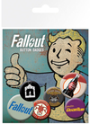 Fallout Button Badges (Pack of 6)