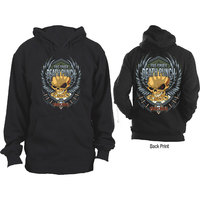 Five Finger Death Punch - Trouble Mens Black Hoodie (Small) - Cover