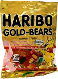 Haribo - Goldbears Gummi Bears (100g) - Cover