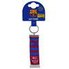 Barcelona - Club Crest & Colours Bar Scarf (Keychain)