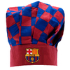 Barcelona - Club Crest & Colours Checked Chefs Hat