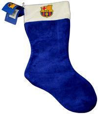 Barcelona - Christmas Crest Stocking - Cover