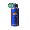 "Barcelona - Club Crest & Text ""FCB"" Classic Aluminium Water Bottle"