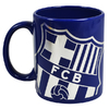 Barcelona - Club Crest Colour React (Ceramic Boxed Mug)