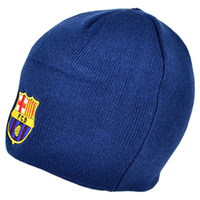 Barcelona - Club Crest Core Beanie Hat - Cover