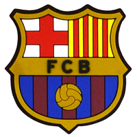 Barcelona - Club Crest & Colours Magnet (Fridge Magnet) - Cover