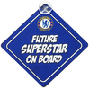 Chelsea - Baby On Board Sign Cover