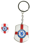 Chelsea - Club Country Badge & Keyring