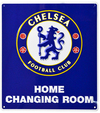 Chelsea - Home Changing Room Sign