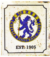 Chelsea - Retro Logo Sign