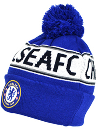 Chelsea - Text Cuff Knitted Hat - Cover