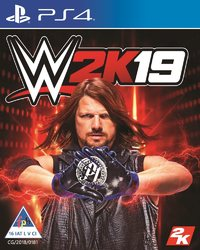 WWE 2K19 (PS4) - Cover