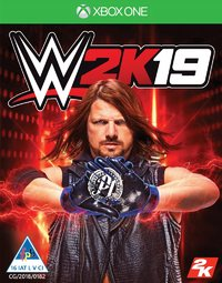 WWE 2K19 (Xbox One) - Cover