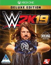 WWE 2K19 - Deluxe Edition (Xbox One) - Cover