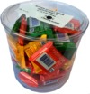 Ritter Sport - Mini's Assorted Chocolates Tub (60 Pieces)