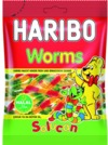 Haribo - Worms (80g)