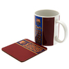 Barcelona - Club Crest & Year Of Establishment (Mug and Coaster Set)