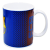 Barcelona - Club Crest In The Fade Design (Ceramic Boxed Mug)