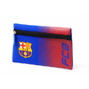 "Barcelona - Club Crest & Text ""FCB""  In The Fade Design (Flat Pencil Case)"