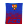 Barcelona - Club Crest In The Fade Design (Fleece Blanket)