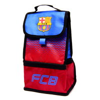 "Barcelona - Club Crest & Text ""FCB""  In The Fade Design (Lunch Bag) - Cover"