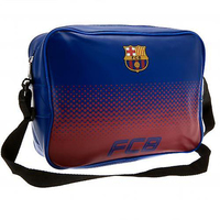 """Barcelona - Club Crest & Text """"FCB""""  In The Fade Design (Messenger Lunch Bag) - Cover"""