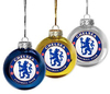 Chelsea - Round Christmas Tree Baubles (Pack of 3)